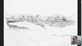 """Live Q&A with Vernon Finney on October 17, 2020 - Topic: """"Foothills"""" Sketch of 12/3/2009"""