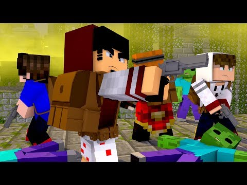 Minecraft: MUNDO ZUMBI - APOCALIPSE Ep.01 ‹ AMENIC ›