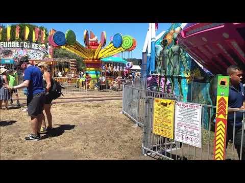 Marin County Fair 2018 Midway Walk-through (ALL RIDES)