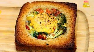 Egg In A Hole | Egg Recipes | एग इन अ होल | Healthy Breakfast Recipe | Food Tak