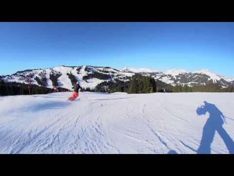 Piste de ski Les Rhodos - Les Gets