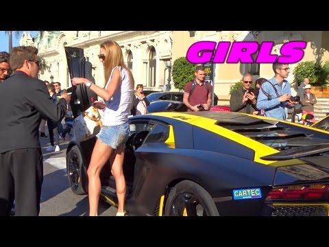 GIRLS Driving Supercars in Monaco