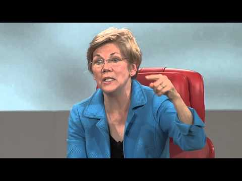 Senator Elizabeth Warren on big money in Washington