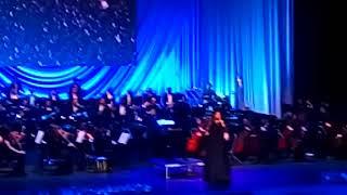 Концерт к 90 летию Экимяна в ЕРЕВАНЕ 3.02.2018 г Выступление Нани Брегвадзе #мобильный репортер
