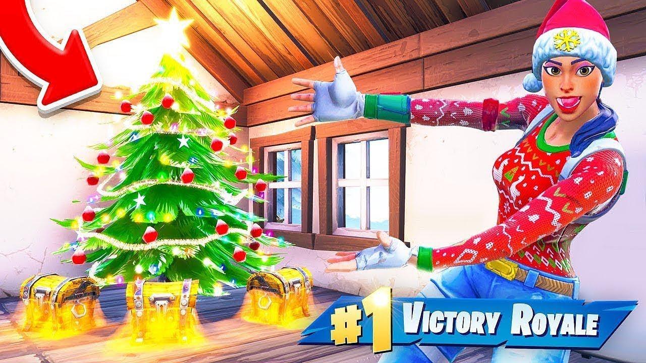 Die Weihnachts Loot Challenge In Fortnite Battle Royale