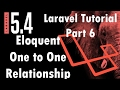 Laravel 5.4 Tutorial | Eloquent One to One Relationship | Part 6 | Bitfumes