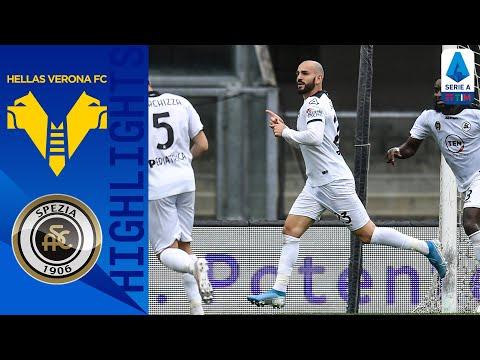 Hellas Verona 1-1 Spezia | Punto d' oro dello Spezia in casa Verona | Serie A TIM