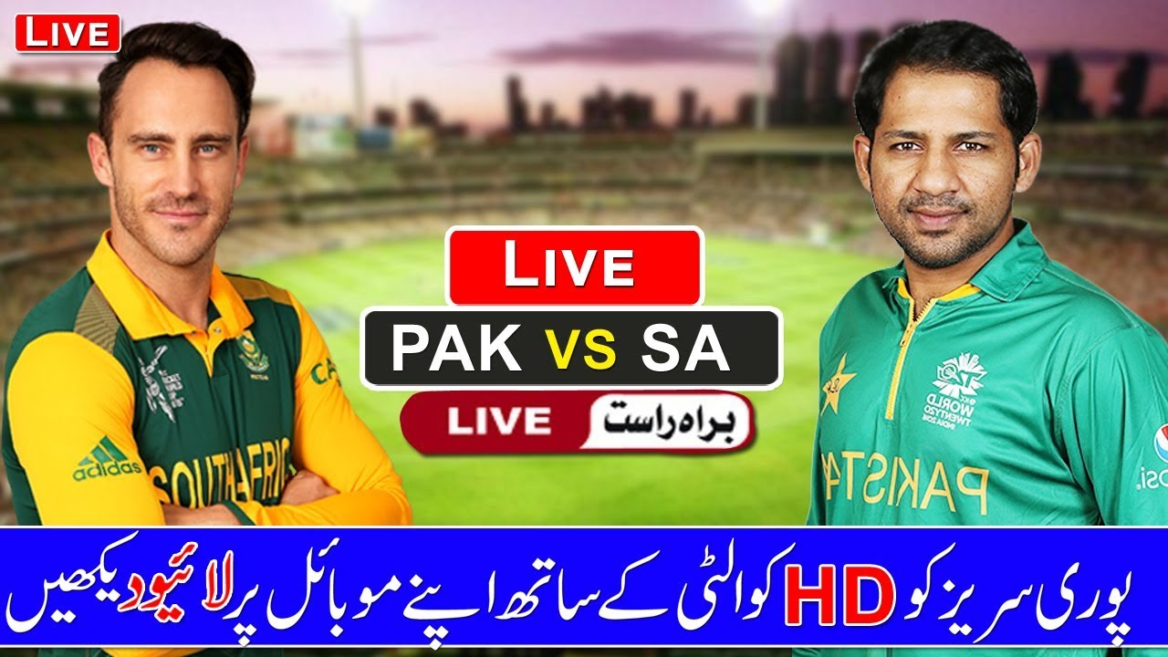 Live Match Pakistan Vs South Africa Live Match Today Live Streaming
