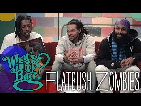 Flatbush Zombies - What's in My Bag?