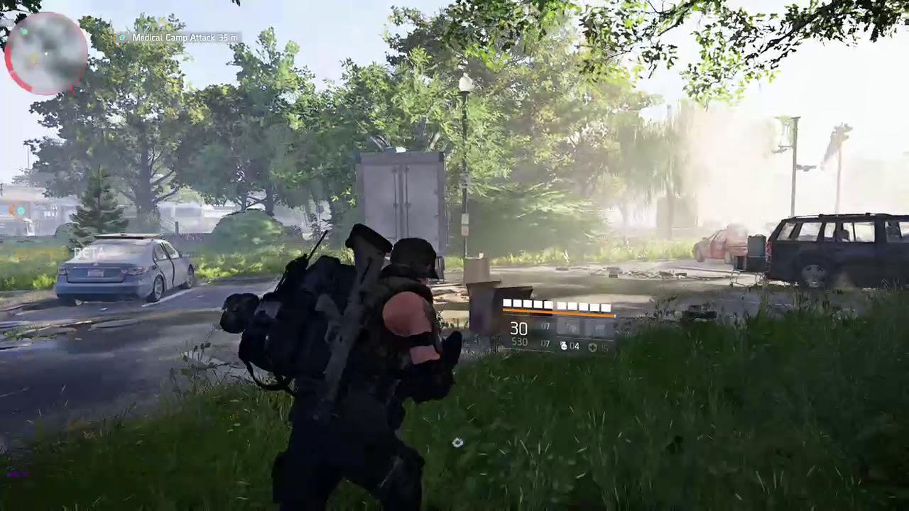 The Division 2 private beta - No sound