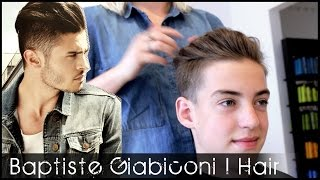 Baptiste Giabiconi Hair Tutorial | French Male Model Hairstyle | Slikhaar TV