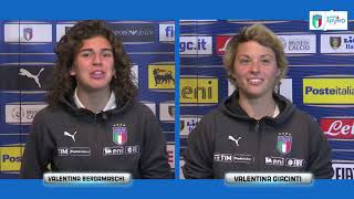 Intervista doppia a Valentina Bergamaschi e Valentina Giacinti