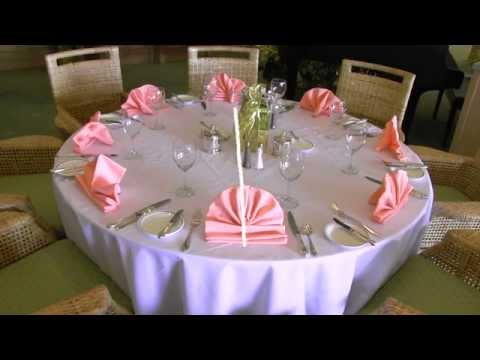 Setting Banquet Tables Training Video