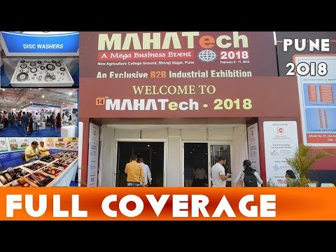 FULL COVERAGE | MAHATech Industrial Exhibition | Pune 2018 |