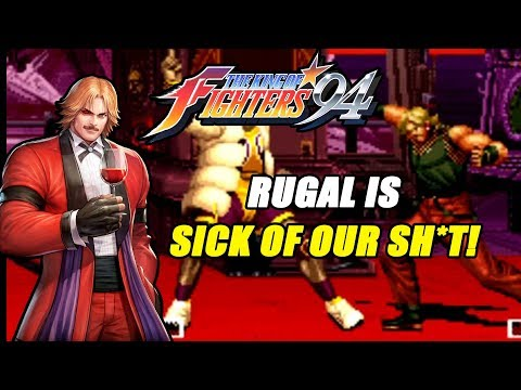 RUGAL IS SICK OF OUR S#!%   King Of Fighters 94 Arcade Mode   Team USA