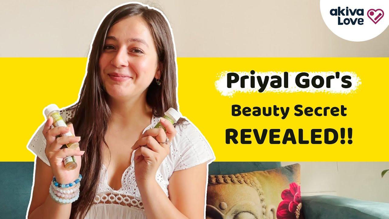 Priyal Gor's Beauty Secret   3-in-1 Grooming Pack - Amla + Aloe Vera + Green Tea Apple Cider Vinegar