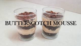 DOMINOS  STYLE BUTTERSCOTCH MOUSSE