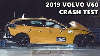 2019 Volvo V60 Safety Crash Test