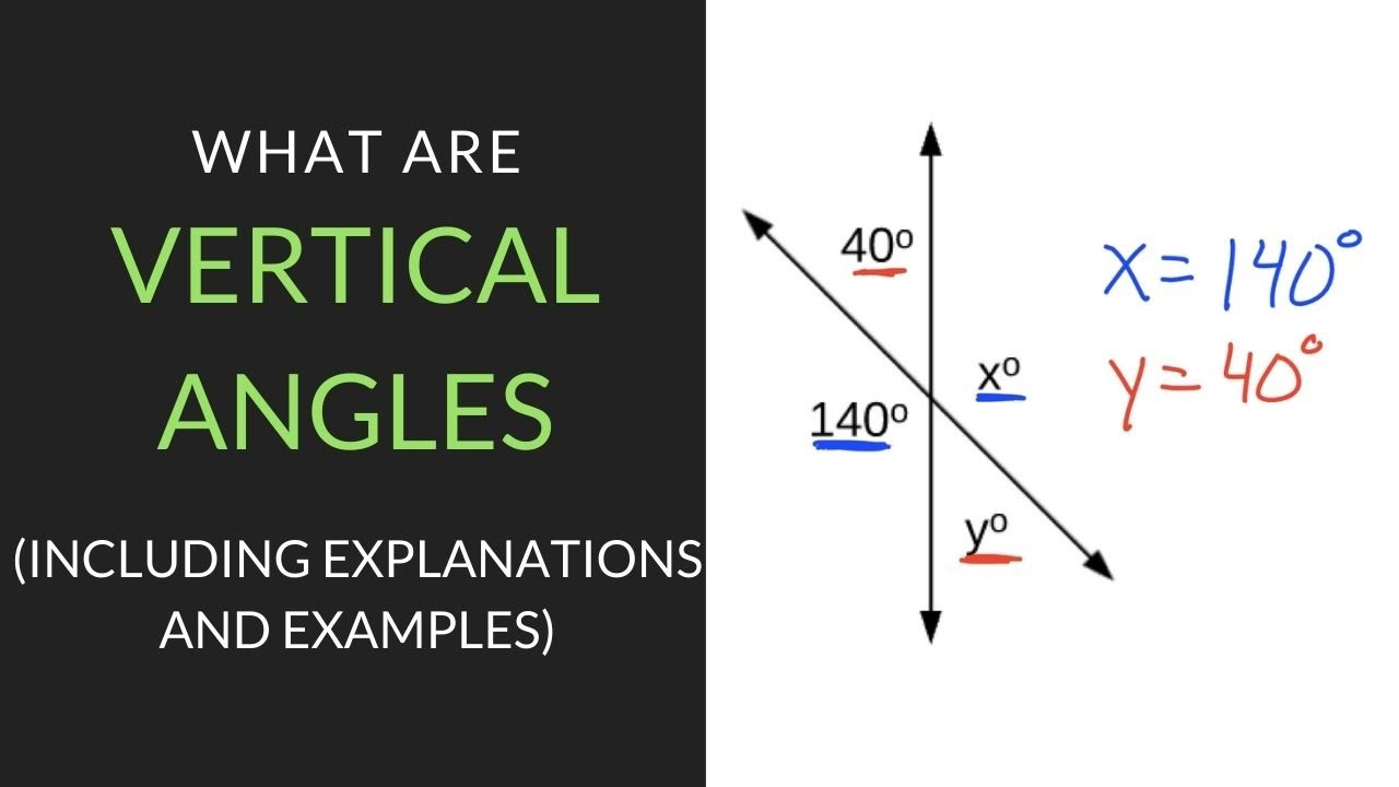 3 Easy Steps for Answering What are Vertical Angles?   Mathcation [ 720 x 1280 Pixel ]