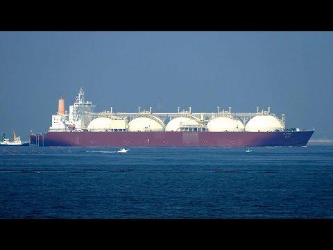 """LNG Tanker """"AL BIDDA"""" 支援「いせしお」「いぶき丸」"""