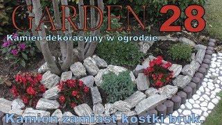 GARDEN (28) - Urządzamy fajny ogród - Kamień dekoracyjny zamiast kostki brukowej.