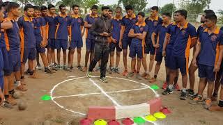 महाराष्ट्र पोलीस भर्ती (गोळा फेक) boys 100%फायदा.9765507080
