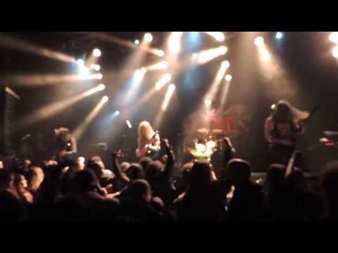 Destroyer 666 'Black city Black fire' Wolfthrone festival St Germain en Laye, La Clef 08/11/2013