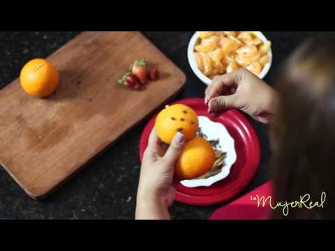 Decoraciones navide as hechas con frutas y vegetales youtube for Decoracion con verduras