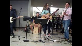 vwhs lunch concert jaclyn and friends do amnesia by josh abbott band cover