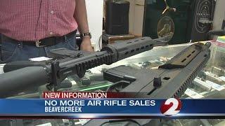 Beavercreek Walmart store pulls air rifles