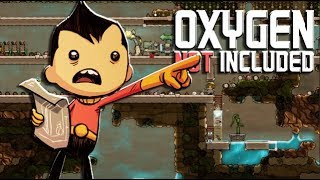There Is Poo Water Everywhere! - Oxygen Not Included #3   JeromeACE