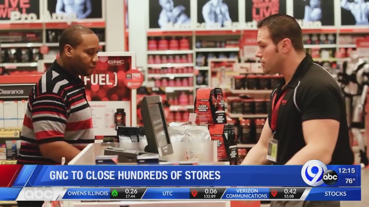 GNC to close up to 900 mall locations