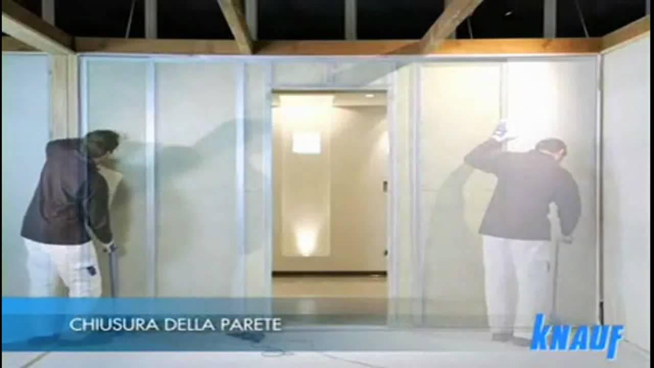 Parete In Cartongesso Con Porta : Pareti in cartongesso - 2/3 - posa ...