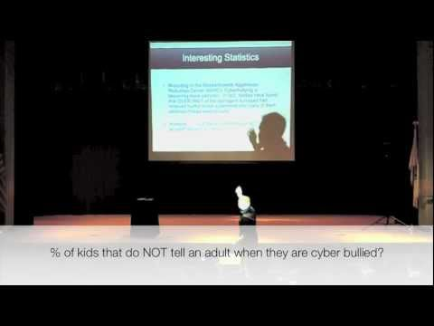 Speaker on Bullying and Cyber Bullying Prevention for Middle and High Schools