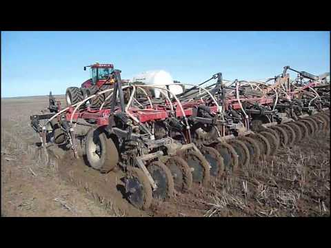 Belair farms seeding 2010 in Cascade, Western Australia HD