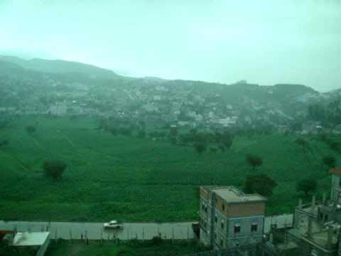 برودة الجو في مدينة إب في فصل الصيف Yemen Ibb City Youtube