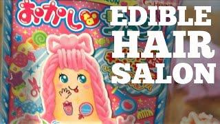 EDIBLE HAIR Salon | Japanese Candy Kit | Okashi na Saron