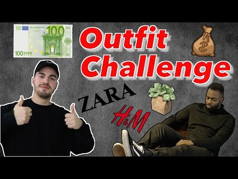 100 € OUTFIT CHALLENGE | Always Overdressed
