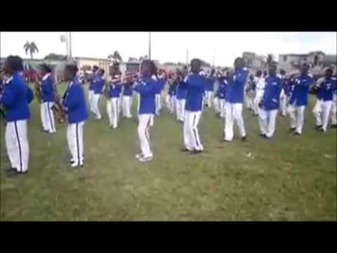 Cap-Haitien Haiti : La fanfare du College Pratique du Nord .
