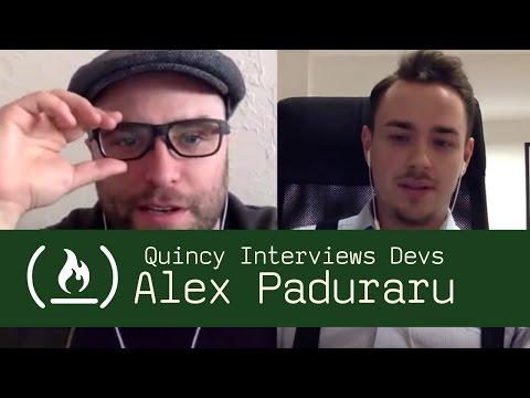Software Engineer and Creative Tim Co-Founder Alex Paduraru - Quincy Interviews Devs