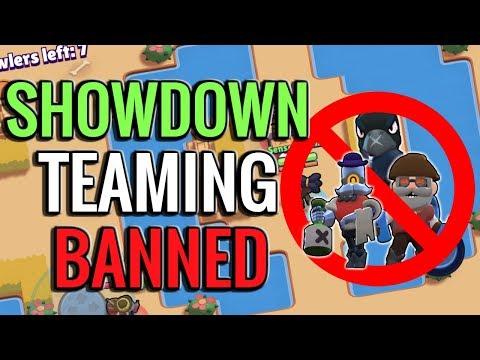 Showdown Teaming Banned! + Channel Announcements | Brawl Stars