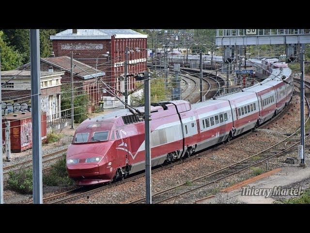 Thalys TGV PBA (réseau) - rames n° 4535 et 4534