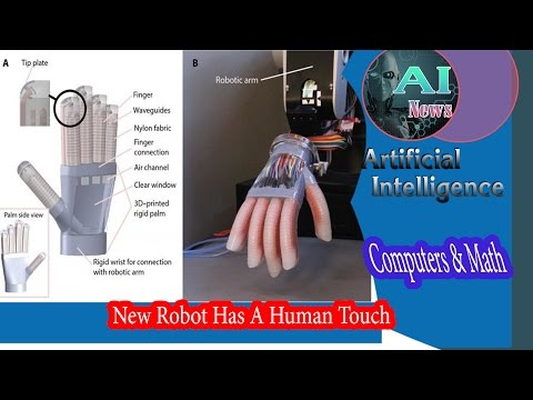AI - New Robot Has A Human Touch