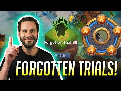 Breakthrough Heroes VS Forgotten Trials Castle Clash