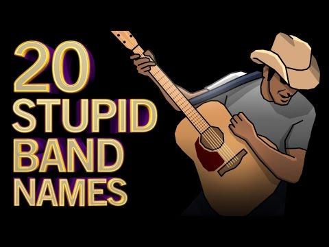 20 Stupid Band Names Vol 1