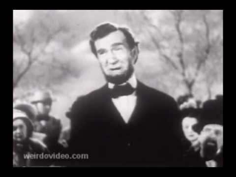 Newsreel: Abraham Lincolns Gettysburg Address - 1951