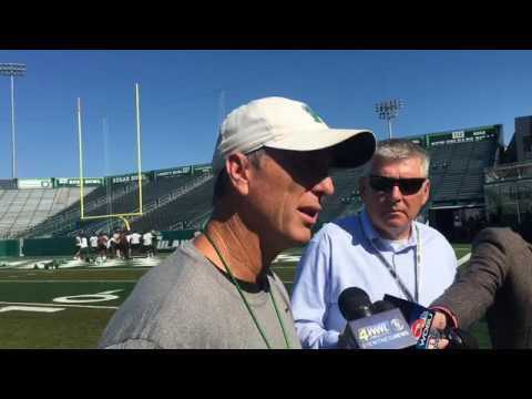 Tulane coach Willie Fritz gives an injury update on CB Donnie Lewis