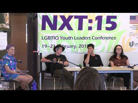 NXT:15 LGBTIQ Youth Leadership Conference: Panel Discussion: LGBTIQ Well-being