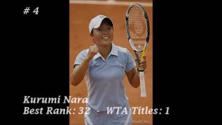 Top 10 - WTA Japanese Tennis Players