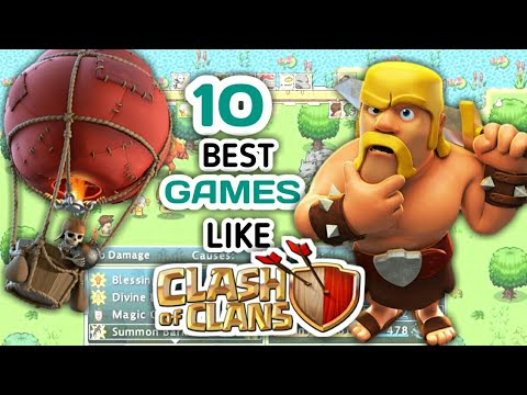 Top 10 Strategy Android Games Like Clash Of Clans Till 2019